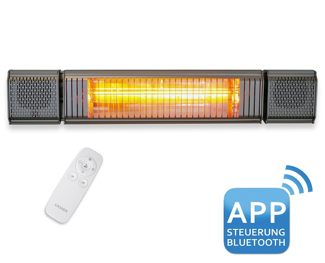 Terrassenstrahler-VASNER-Appino-BEATZZ-Infrarotstrahler-Bluetooth-Licht-LED-Musik-Terrasse