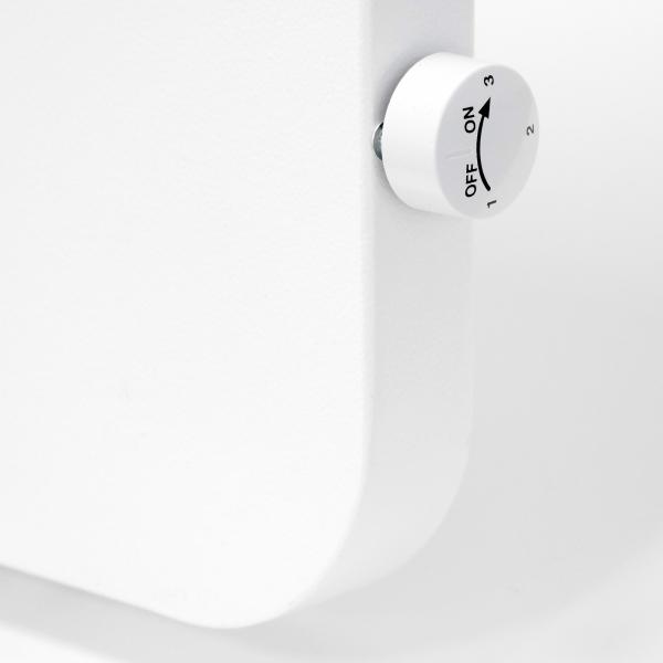VASNER-Konvi-Plus-Hybrid-Infrarotheizung-Metall-Thermostat