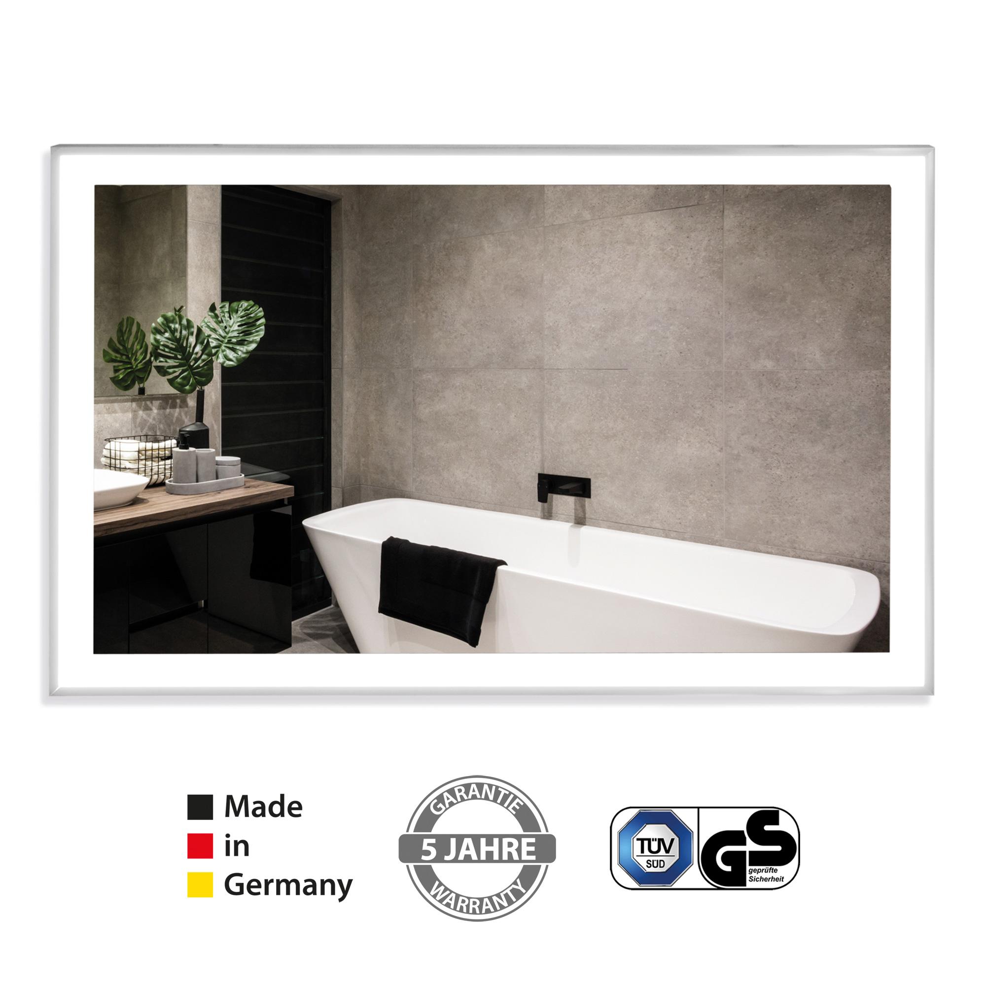 Der Infrarotheizung Bad Spiegel mit Beleuchtung Zipris S LED von VASNER