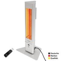 VASNER HeatTower Mini Mobiler Heizstrahler 1500 W Silber
