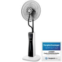 VASNER Stand-Ventilator Cooly mit Sprühnebel & Fernbedienung, Wasser-Nebel