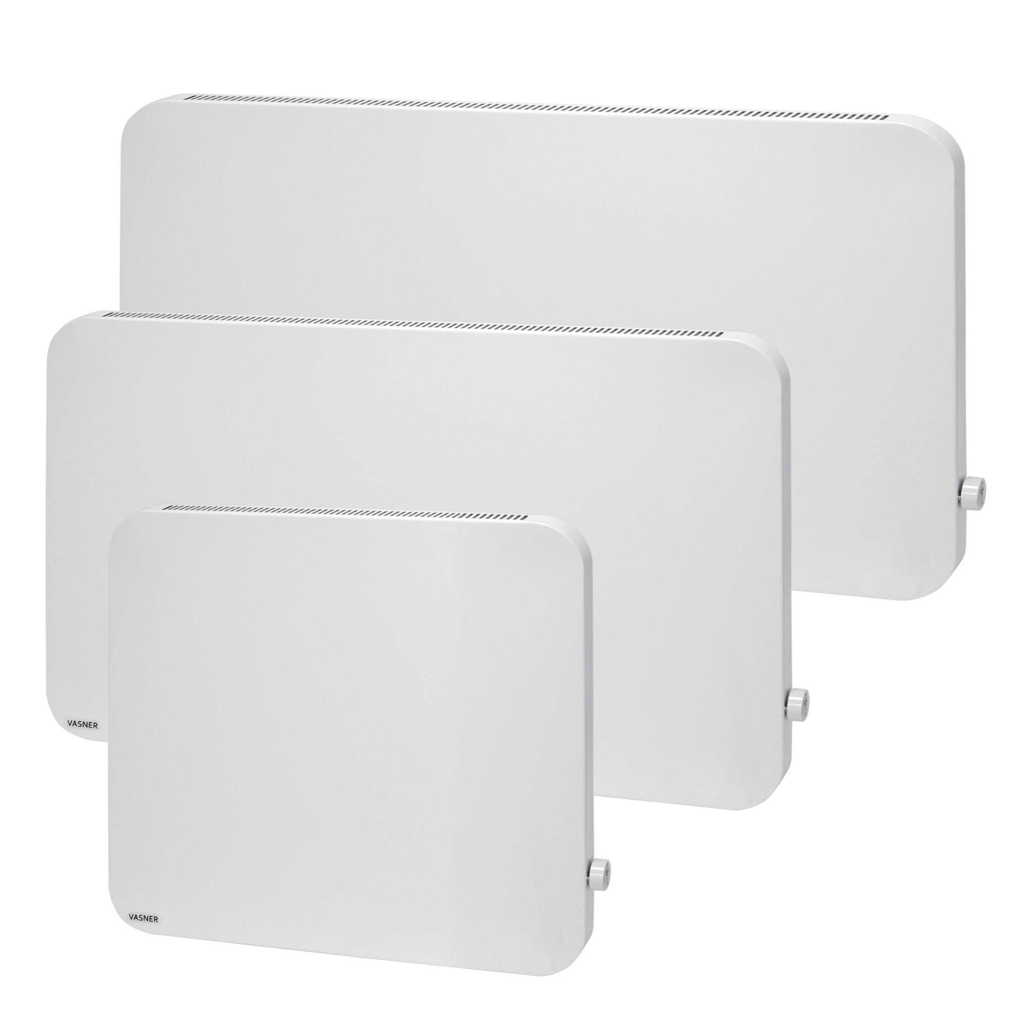 VASNER Konvi Plus runde Hybrid Infrarotheizung mit Thermostat