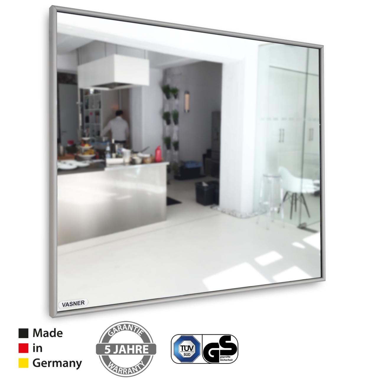 Spiegelhöhe Bad vasner zipris infrarotheizung spiegel hohe effizienz tüv