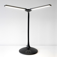 VASNER Splitty Schreibtischleuchte LED schwarz 6,5 W dimmbar Tageslicht Touch