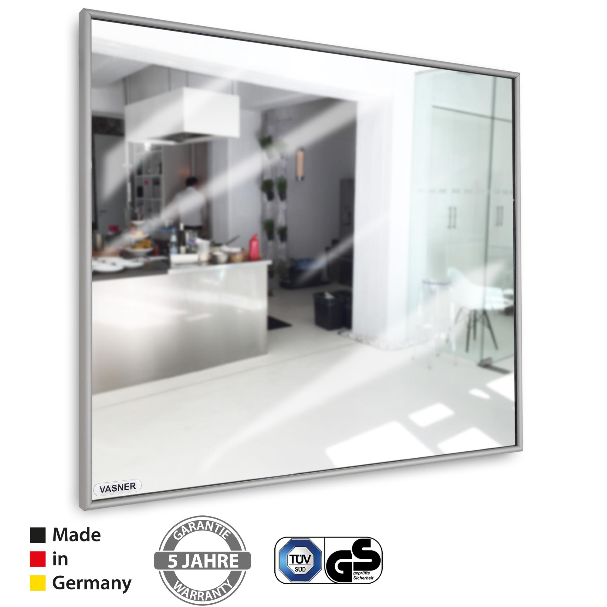 Der Infrarotheizung Spiegel mit Rahmen Zipris S von VASNER