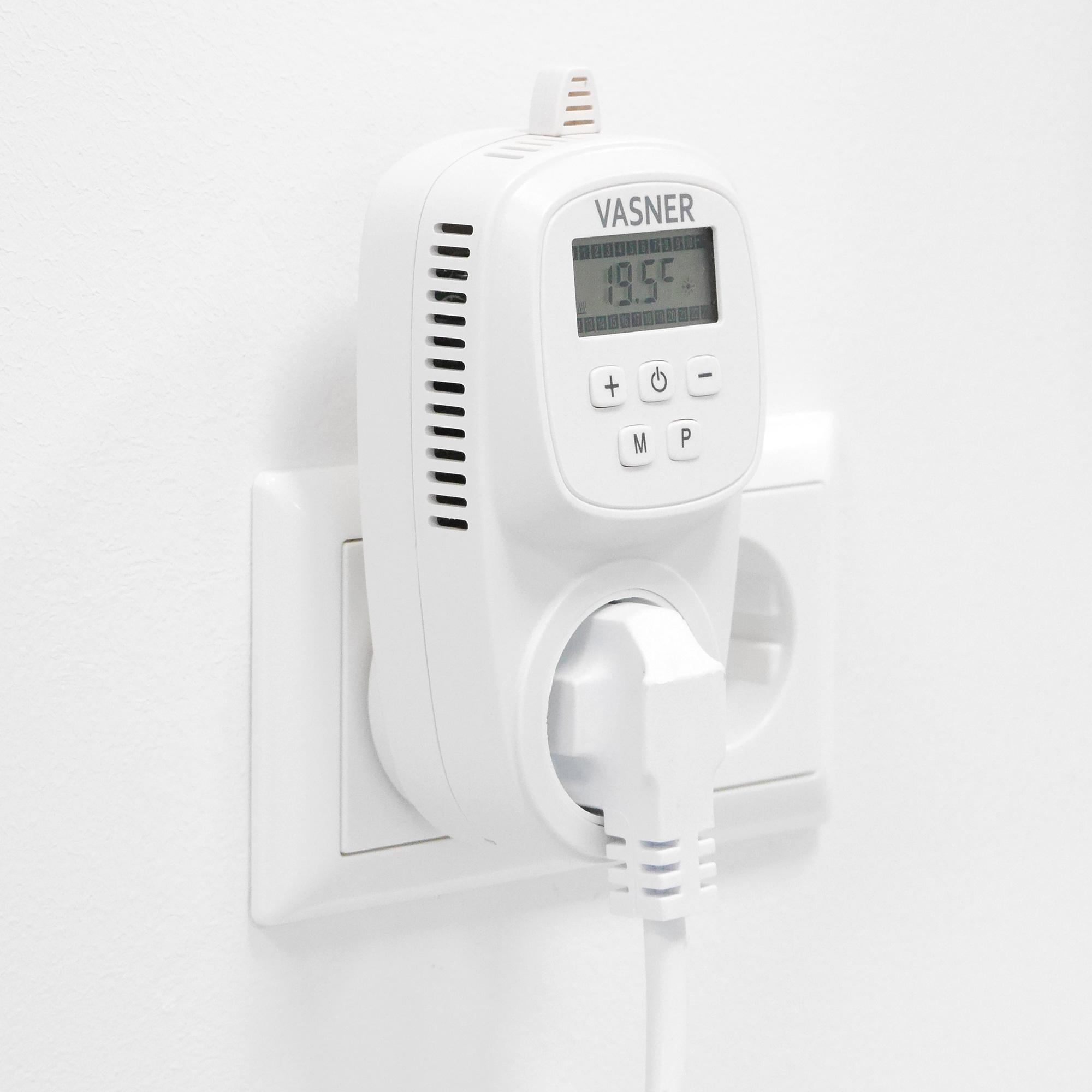 Infrarotheizung Kosten senken mit dem Steckdosenthermostat VUT35 von VASNER