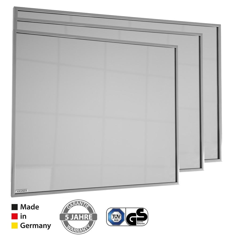 vasner zipris s titan rahmen infrarotheizung spiegel 400. Black Bedroom Furniture Sets. Home Design Ideas