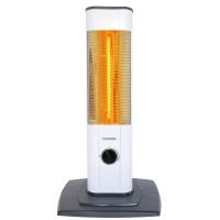 VASNER StandLine Mini 12 Infrarot-Standheizstrahler 1200 Watt, Weiß, Heizstrahler Standgerät