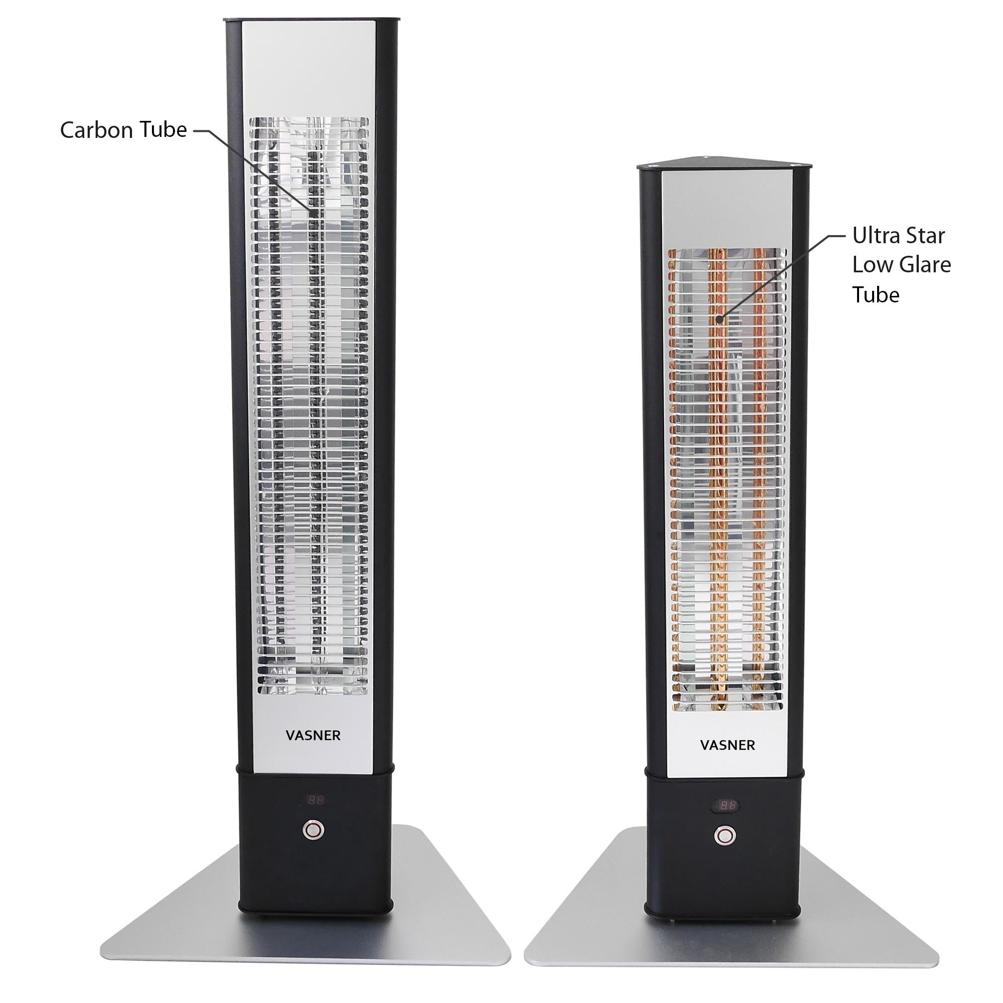 Heizstrahler Carbon Heizelement Thermostat Terrassen Infrarotwärmestrahler 2500W