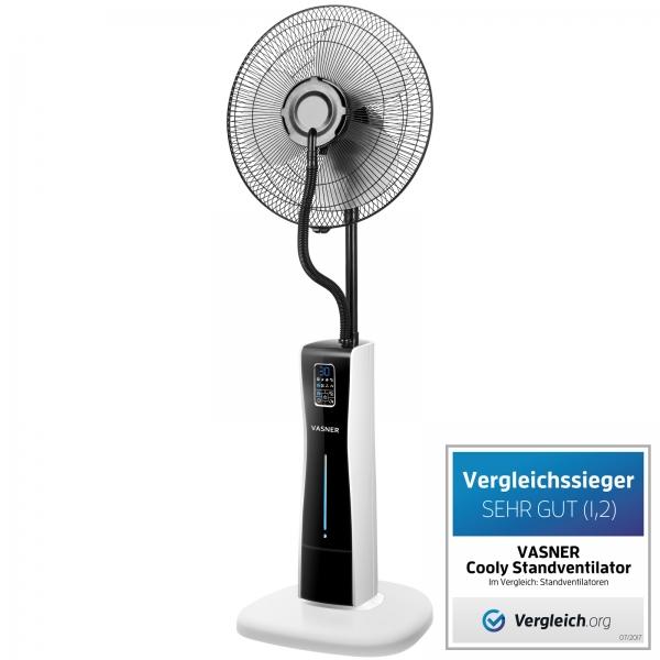 VASNER-Cooly-Stand-Ventilator-Nebel-Wasser-Ultraschall-Vergleichssieger-Testsieger